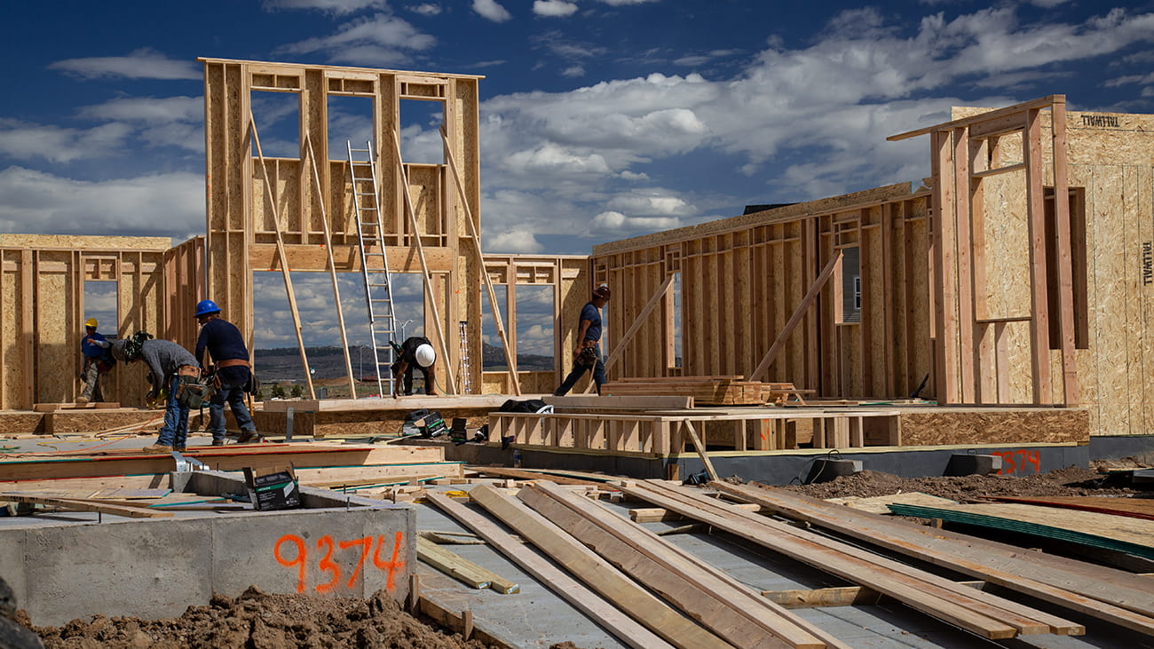 New construction homes in Denver